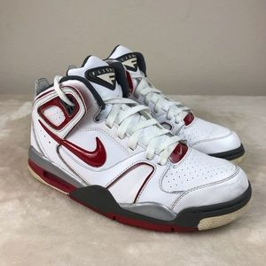 Nike Air Flight High Top Basketball Shoes size 8.5